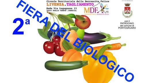 2^ FIERA DEL BIOLOGICO A PORTOGRUARO