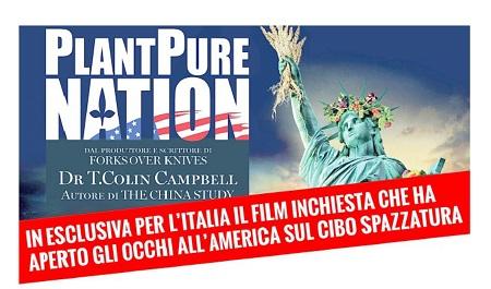 PROIEZIONE FILM PLANT PURE NATION
