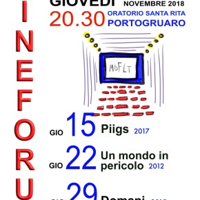 "CINEFORUM ""NOVEMBRE IN DECRESCITA"""