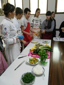 Laboratorio con cuoca